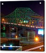 Parkersburg Belpre Bridge Acrylic Print