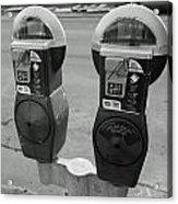 Parking Meters Acrylic Print