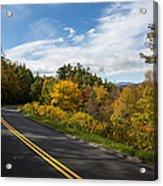 Parkway Milepost 357 Acrylic Print