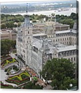 Parlament Quebec  Acrylic Print
