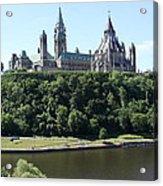 Parliament Hill - Ottawa Acrylic Print