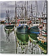 Parr Four And Old Salt Acrylic Print