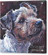 Parson Russell Terrier Acrylic Print