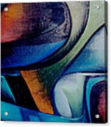 Part Of An Abstract Painting Acrylic Print