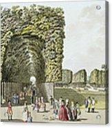 Part Of The Garden At Ausgarten Acrylic Print