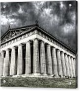 Parthenon Of Nashville Acrylic Print