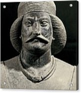 Parthian Warrior From Shami. 1st C Acrylic Print by Everett