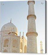 Partial View Taj Mahal Acrylic Print