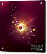 Particle Collision, Artwork Acrylic Print