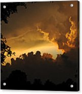 Parting Clouds Acrylic Print