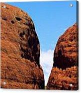 Parting Rock Acrylic Print