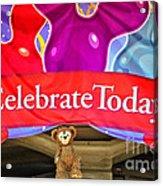 Party Bear Acrylic Print