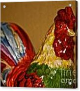 Party Chicken Acrylic Print