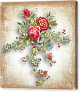 Party Of Roses  Acrylic Print