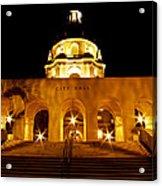 Pasadena City Hall Acrylic Print
