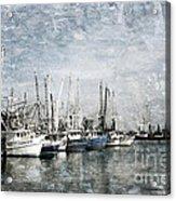 Pass Christian Harbor Acrylic Print