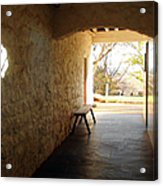 Passageway At Monticello Acrylic Print