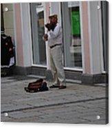 Passau Violinist Acrylic Print