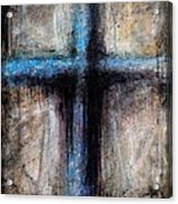 Passion Of The Cross Acrylic Print