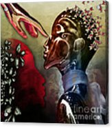 Passion Was...not A Thought Acrylic Print