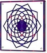Passionate Purple Prayers Abstract Chakra Art By Omaste Witkowsk Acrylic Print
