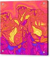 Passion's Petals Acrylic Print
