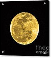Passover Full Moon Acrylic Print by Al Powell Photography USA