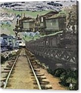 Past Century Trains Acrylic Print