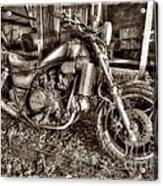 Past Glory Days Acrylic Print