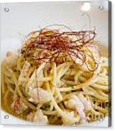 Pasta Food Acrylic Print