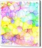 Pastel Abstract Patterns IIi Acrylic Print