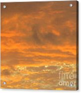 Pastel And Serene Sunset 2 Acrylic Print