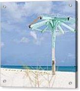 Pastel Beach Frame Acrylic Print