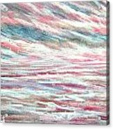 Pastel Mixture Acrylic Print by Janet Moss