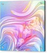 Pastel Moves Acrylic Print
