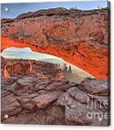 Pastels At Canyonlands Acrylic Print