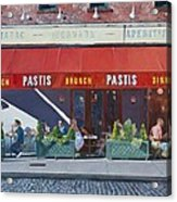 Pastis Acrylic Print by Anthony Butera