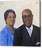 Pastor Donahue and Yvonne Green Acrylic Print