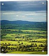 Pastoral Fields, Near Clonea, County Acrylic Print