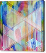 Pastoral Moment - Square Version Acrylic Print