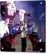 Pat Monahan Of Train Acrylic Print