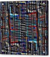Patchwork Architecture 2 Acrylic Print