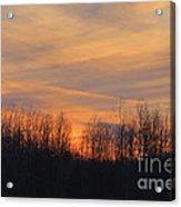 Patchwork Sunset Acrylic Print