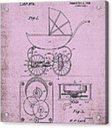 Patent Art Baby Carriage 1920 Lark Invite IIi Acrylic Print