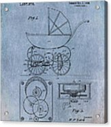 Patent Art Baby Carriage Lark II Invite Acrylic Print
