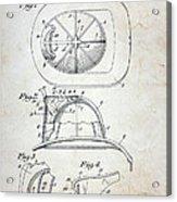 Patent - Fire Helmet Acrylic Print