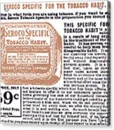 Patent Medicine Ad, 1890s Acrylic Print