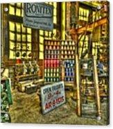 Paterson Silk Mill Acrylic Print