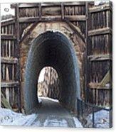 Path In History Acrylic Print