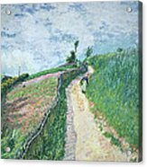 Path Leading To Ville D'avray Acrylic Print